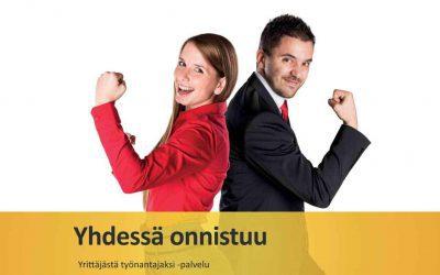 Yrittäjästä työnantajaksi – maksuton palvelu yrittäjille!